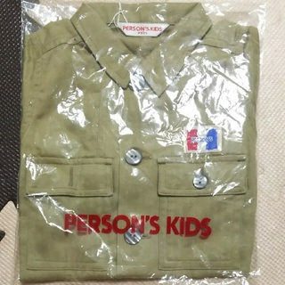 パーソンズキッズ(PERSON'S KIDS)の長袖シャツ 上着(ブラウス)