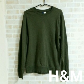 エイチアンドエム(H&M)のH&M  メンズ トレーナー(スウェット)