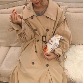 ワンアフターアナザーナイスクラップ(one after another NICE CLAUP)のmellowneon //人気No.1❤︎ribbon trench coat(トレンチコート)