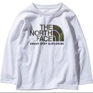 THE NORTH FACE - 【新品】ノースフェイス キッズ100 ロングスリーブカモロゴティー