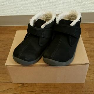 ムジルシリョウヒン(MUJI (無印良品))の無印 ボア ハイカットシューズ 17cm(ブーツ)