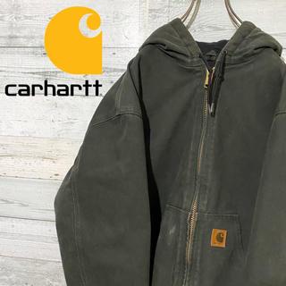 carhartt - 【激レア】カーハート☆メキシコ製 革ロゴタグ ダックジャケット ブルゾン