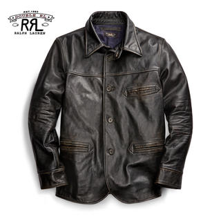 RRL - 【新品】RRL 2019W Leather Car Coat XL