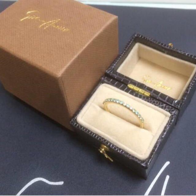 PonteVecchio(ポンテヴェキオ)のセイレーンアズーロ K18YGリング レディースのアクセサリー(リング(指輪))の商品写真
