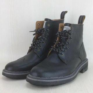 ネイバーフッド(NEIGHBORHOOD)のネイバーフッド レインマンブーツ16aw 人気ブラック★(ブーツ)