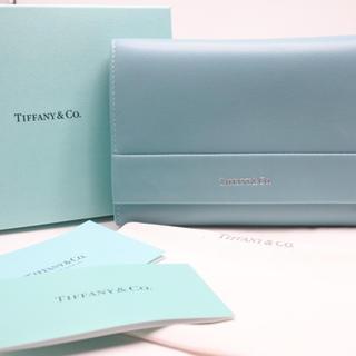 Tiffany & Co. - TIFFANY&CO. ティファニー 財布 コンパクト ティファニーブルー