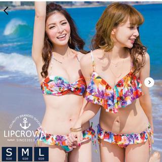 水着 ビキニ レディース バンドゥ Mサイズ 新品未使用 LIP CROWN(水着)