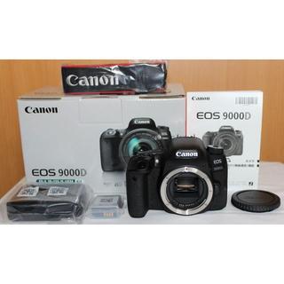 Canon - 新品級!EOS 9000D ボディ/メーカー保証書付!今年11月28日迄