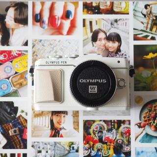 OLYMPUS - 極美品 オリンパス PEN E-PL7 ボディー ホワイト レリーズ数680
