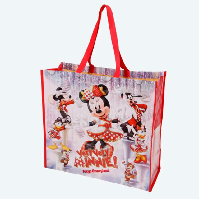 Disney(ディズニー)のショッピングバッグ ベリーベリーミニー レディースのバッグ(ショップ袋)の商品写真