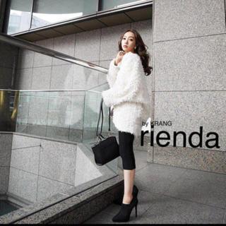 rienda - rienda カーディガンコート