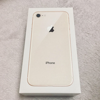 iPhone - iPhone8  Gold 64GB【新品・SIMフリー】