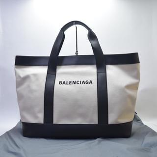 バレンシアガバッグ(BALENCIAGA BAG)の展示のみ未使用/送料無料/バレンシアガ/ネイビートート/ショルダー・ボストン(トートバッグ)