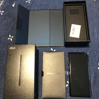 Galaxy - 新品同様 au Galaxy Note9 SCV40 ミッドナイトブラック