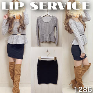 LIP SERVICE - ♡コーデ売り1286♡トップス×スカート