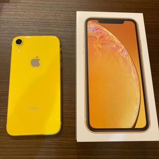 iPhone - iPhone XR 128GB SIMフリー イエロー