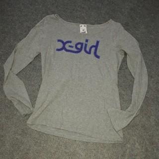エックスガール(X-girl)のX-Girlロゴ入りロンT(Tシャツ(長袖/七分))