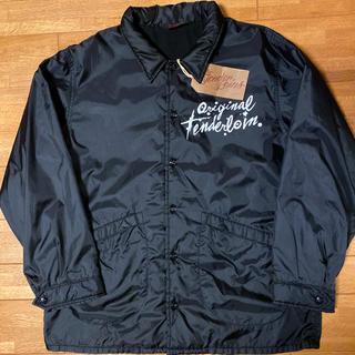 TENDERLOIN - 本店限定! TENDERLOIN ナイロン コーチ ジャケット ブラック 黒 M