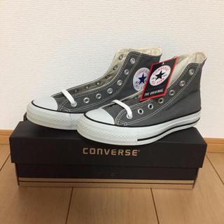 CONVERSE - 新品 CONVERSE 24㎝  グレー