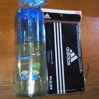 アディダス(adidas)のadidas色えんぴつ、Disneyリトル・グリーン・メンペンケース(ペンケース/筆箱)