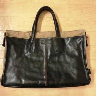 HERZ - ヘルツ 革と帆布のカジュアルビジネスバッグ