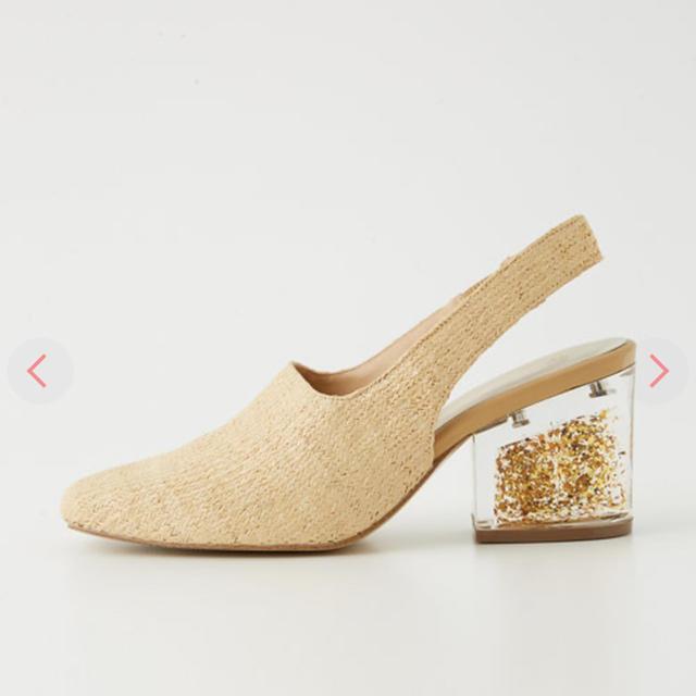 SLY(スライ)のスライ スクエア クリア ヒール サンダル レディースの靴/シューズ(サンダル)の商品写真