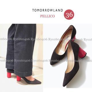 PELLICO - 新品⭐️49680円/ペリーコ別注/チャンキーヒールパンプス/36/23.0
