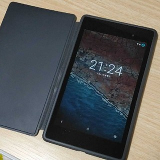 エイスース(ASUS)のNexus7 2013 Wi-Fiモデル(タブレット)