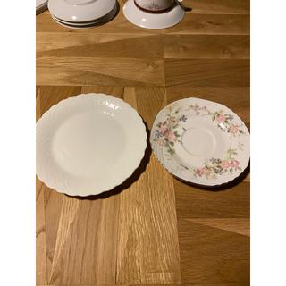ナルミ(NARUMI)のNARUMI シルキーホワイト ナルミ Silky White ソーサー 皿(グラス/カップ)