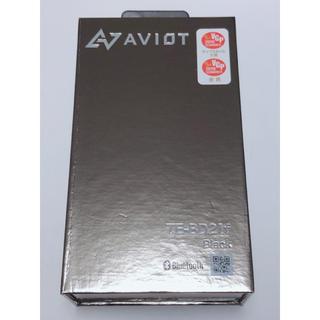 アヴォイド(Avoid)のAVIOT TE-BD21f Black 【TE-BD21f-BK】 (ヘッドフォン/イヤフォン)