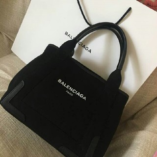 Balenciaga - バレンシアガ 黒トートS