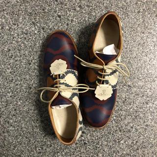 ヴィヴィアンウエストウッド(Vivienne Westwood)のグレンソンコラボ スクイグル シューズ(ローファー/革靴)