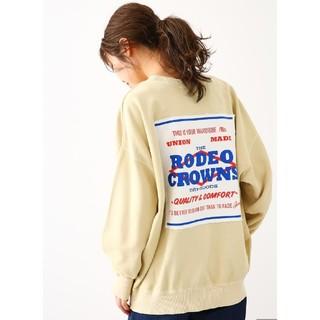RODEO CROWNS WIDE BOWL - 新品未使用ベージュ
