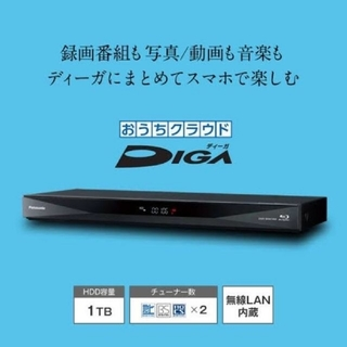 Panasonic - 新品未開封 DIGA パナソニック ブルーレイレコーダー DMR-BCW1060