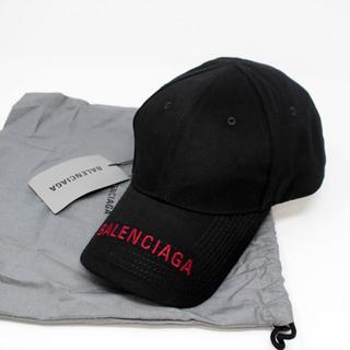 Balenciaga - 新品 BALENCIAGA ロゴキャップ 黒