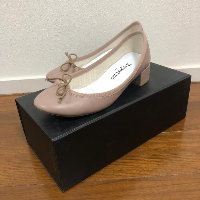 repetto(レペット)のrepetto★レペット 3cm ヒール バレエシューズ レディースの靴/シューズ(バレエシューズ)の商品写真