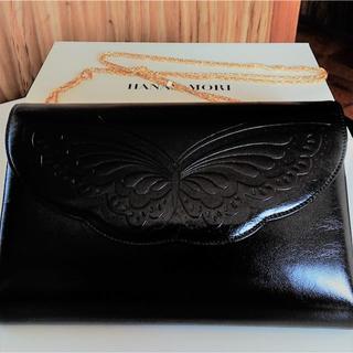 ハナエモリ(HANAE MORI)のモリハナエ・牛革フォーマルバッグ(ハンドバッグ)