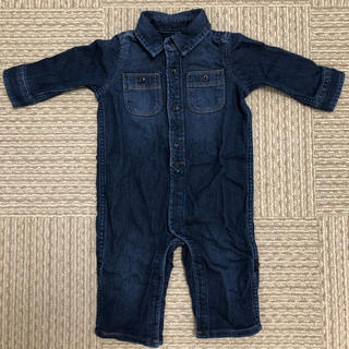 babyGAP - GAP デニム ロンパース 6-12M 美品