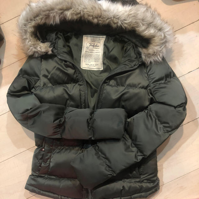 ZARA(ザラ)のザラダウンジャケットツイード美品 レディースのジャケット/アウター(ダウンジャケット)の商品写真