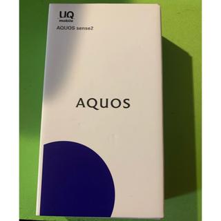 SHARP - AQUOS  sense2 新品未使用 SHV43 ブラック SIMフリー
