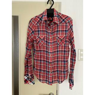 モロコバー(MOROKOBAR)のモロコバーチェックシャツ♪ネルシャツ(シャツ/ブラウス(長袖/七分))