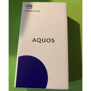SHARP - AQUOS  sense2 新品未使用 ホワイト SIMフリー SHV43