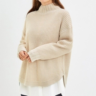 GU - 今期ジーユーGUハイネックセーターM