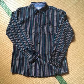 アベイル(Avail)のストライプシャツ  メンズ  3L  (シャツ)