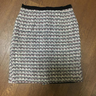 ジャスグリッティー(JUSGLITTY)のジャスグリッティー ツイードスカート(ミニスカート)