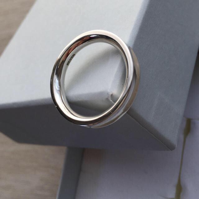 BEAUTY&YOUTH UNITED ARROWS(ビューティアンドユースユナイテッドアローズ)のBEAUTY&YOUTH SILVER カーブリング《ユニセックス》15号 メンズのアクセサリー(リング(指輪))の商品写真