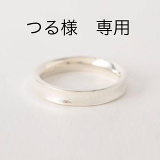 BEAUTY&YOUTH UNITED ARROWS - BEAUTY&YOUTH SILVER カーブリング《ユニセックス》15号