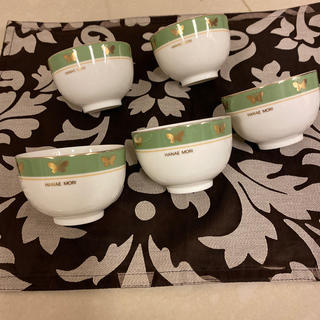 ハナエモリ(HANAE MORI)の英恵森  湯飲み5客(食器)