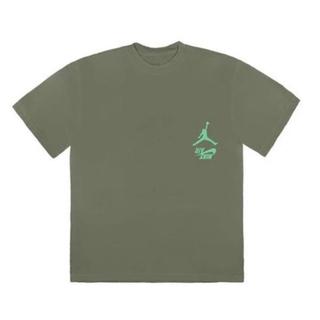 NIKE - travis scott トラビススコット ジョーダン Tシャツ 緑 XL
