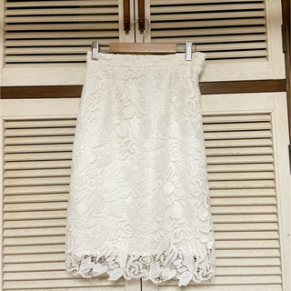 PROPORTION BODY DRESSING - プロポ☆ハートリーフレーススカート